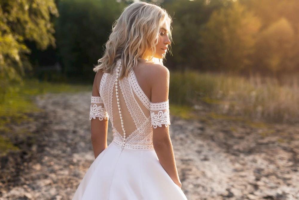 Vestido de novia Uma
