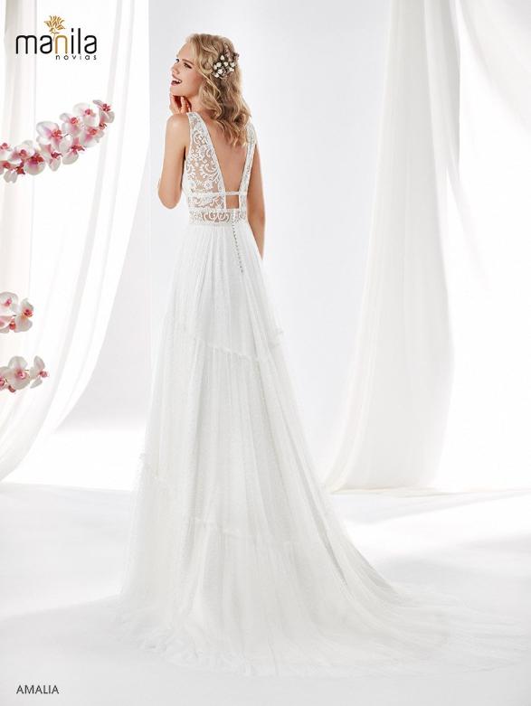 Vestido de novia Amalia