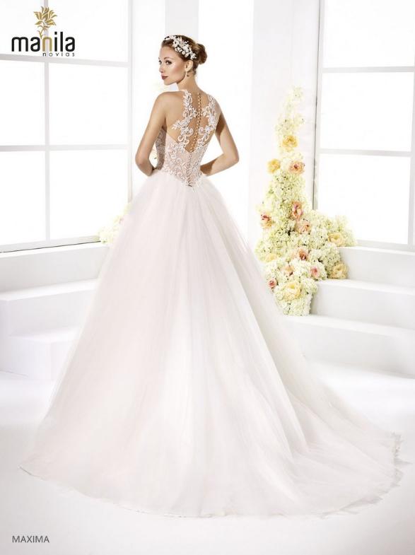 Vestido de novia Máxima