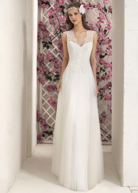 Vestido de novia Villais Plumetti
