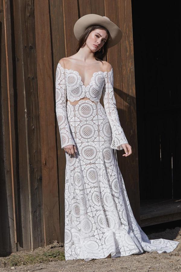 Vestido de novia Boho Westley - Spai Nuvies