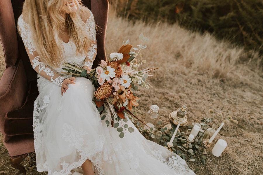 Casarse en la montaña: una boda de ensueño